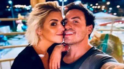 Sofía y Fede celebraron juntos la llegada del 2021