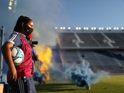 El estadio de Vélez albergará la gran final del torneo (REUTERS/Juan Ignacio Roncoroni)