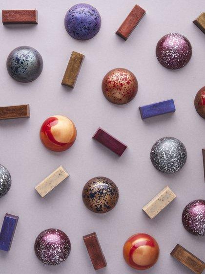 Los bombones que fusionan arte y chocolate by Kawaka