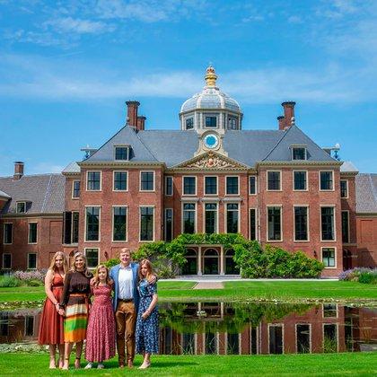 Foto oficial de los reyes de Holanda