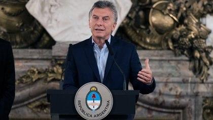 Mauricio Macri, presidente de la Nación (Adrián Escandar)