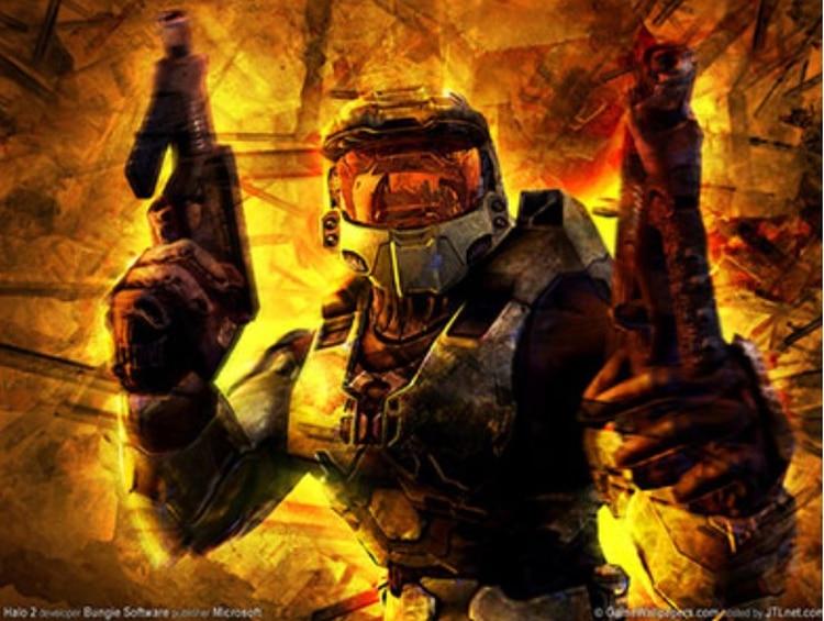 Halo 2 fue lanzado para la consola Xbox en 2004.