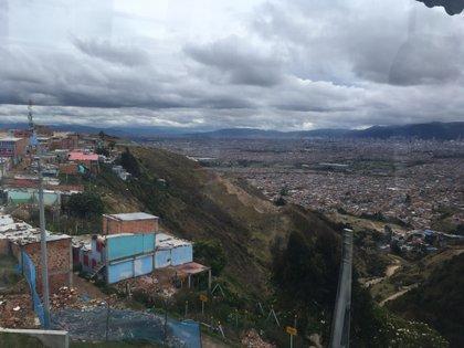 Ciudad Bolívar y el sur de Bogotá