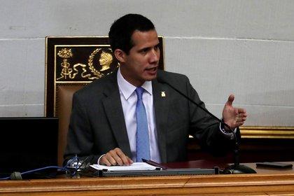 El opositor Juan Guaidó. EFE/Leonardo Muñoz/Archivo