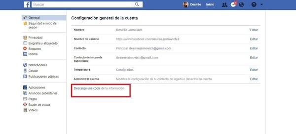 entrar a mi facebook por google