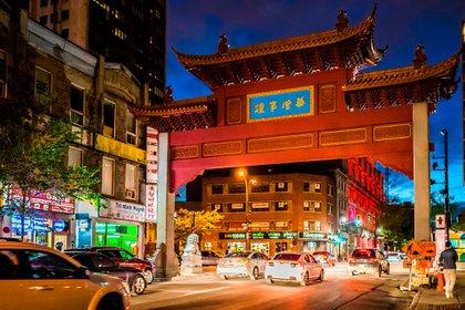 Este barrio chino, que tiene forma de L, es uno de los más pequeños del mundo (Shutterstock)