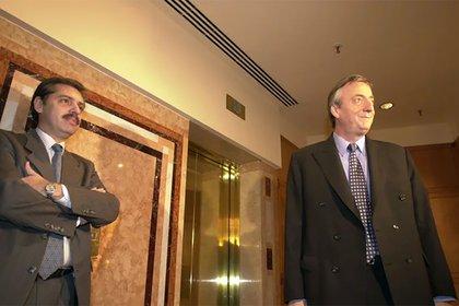 Antes del ballottage de 2003, cuando Aberto Fernández ya era el jefe de la campaña de Néstor Kirchner