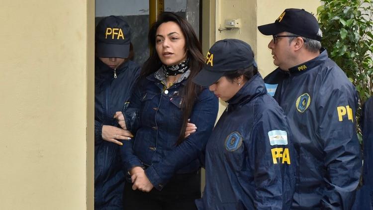 Carolina Pochetti, viuda de Daniel Muñoz (Crédito: Adrián Escandar)