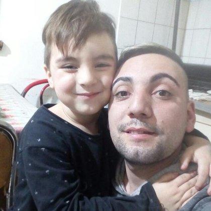 Alejandro Medina y su hijo Yahir