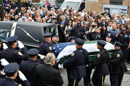 Este miércoles se llevó a cabo el cortejo fúnebre (Foto: Especial)