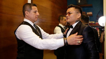"Gustavo Arce, dueño de Agustino, la empresa que viste a ""Chino"" Maidana"