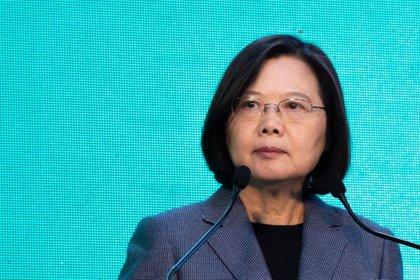 La presidente de Taiwpan, Tsai Ing-wen.