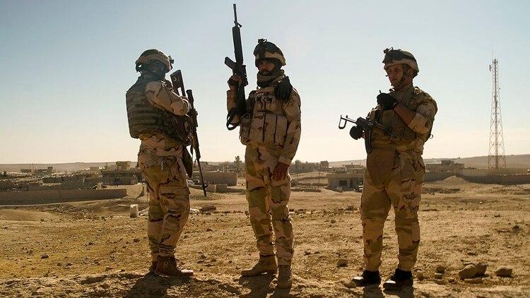 Milicianos de Hezbollah en Medio Oriente
