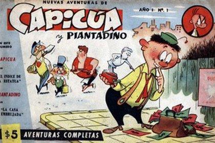 Capicúa: un personaje de historieta que tuvo mucho éxito y fue creado por el dibujante argentino Adolfo Mazzone