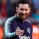 Soccer Football - La Liga Santander - FC Barcelona v Real Betis - Camp Nou, Barcelona, Spain - November 11, 2018 Barcelona's Lionel Messi during the warm up before the match REUTERS/Albert Gea