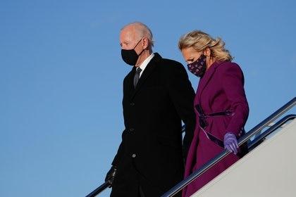 Joe y Jill Biden. REUTERS/Tom Brenner