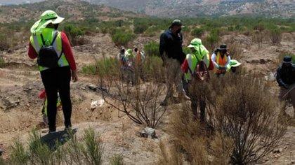 La búsqueda de personas desaparecidas es también realizada por la sociedad civil de México (Foto:  Fernando Ocegueda, presidente de la Asociacion unidos por los desaparecidos de Baja California)