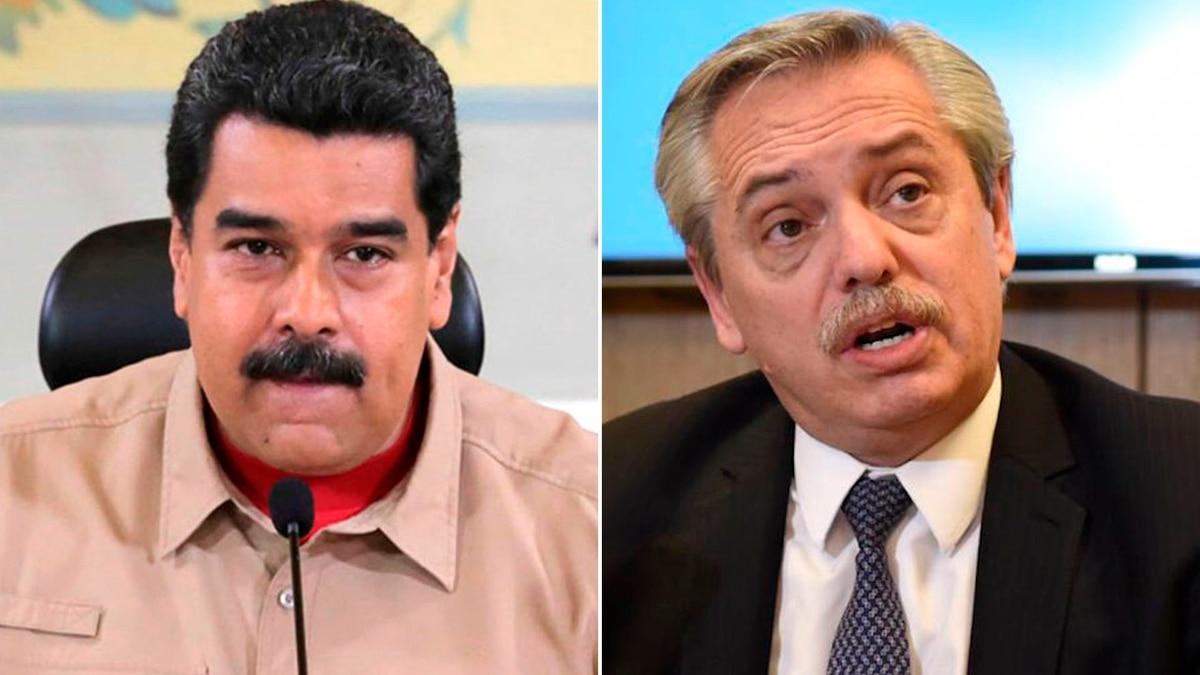 Alberto Fernández invitó a su jura presidencial a un ministro de Maduro que no puede entrar a la Argentina - Infobae