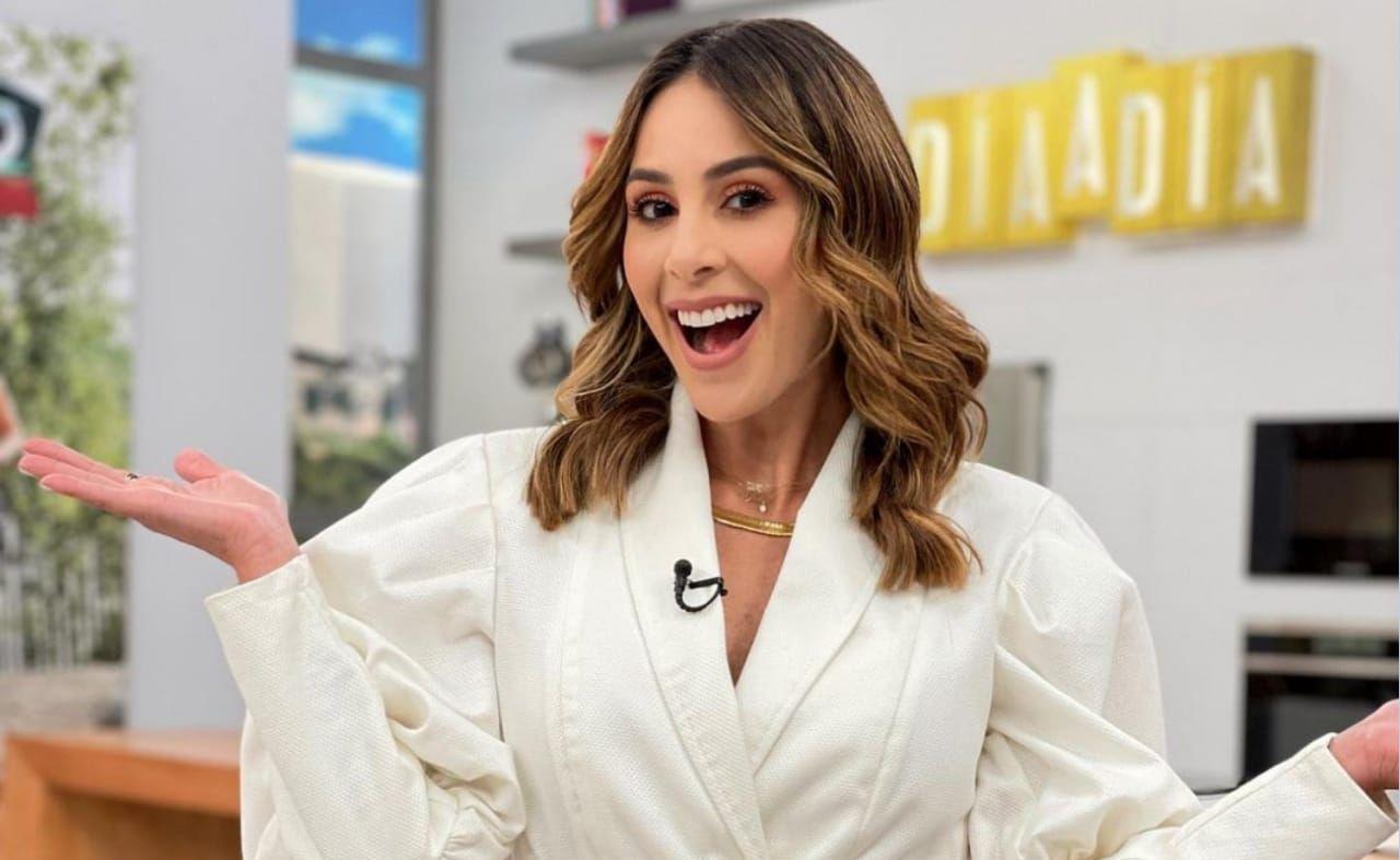 Carolina Soto, presentadora de 'Día a día'