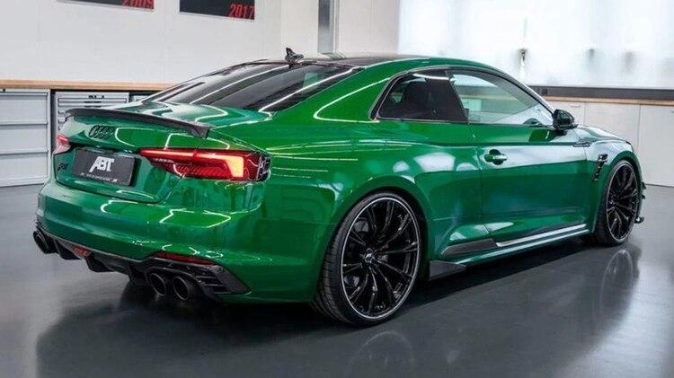 El ABT Audi RS5-R acelera de 0 a 100 km/h en 3.6 segundos