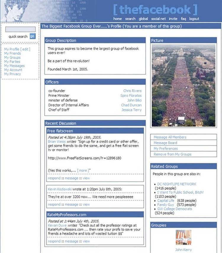 La red social pasó de ser un mero directorio online a convertirse en una plataforma para conectar gente en todo el mundo.