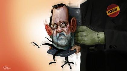 El ex presidente Mariano Rajoy y el actual, Pedro Sánchez (Rodrigo Acevedo Musto)