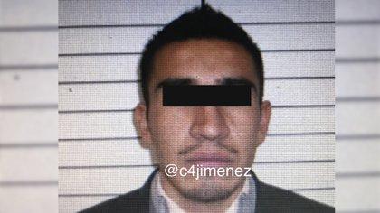 """Rey Isaac """"N"""" es identificado como el principal distribuidor de drogas de la Fuerza Anti Unión Tepito (Foto: Twitter@c4jimenez)"""