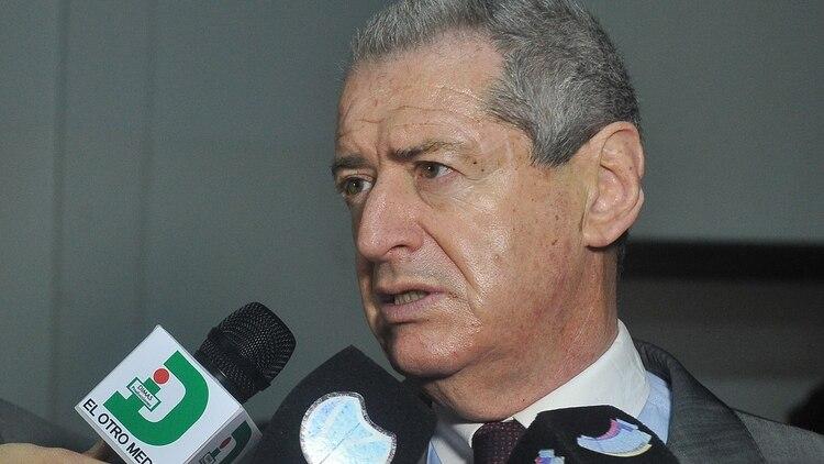 El apoderado nacional del PJ y del Frente de Todos, Jorge Landau.