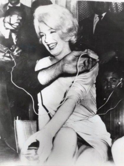 La foto de la actriz que escandalizó al mostrar que no usaba ropa interior (Foto: captura de pantalla)