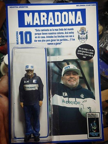 Diego Maradona también tiene su versión