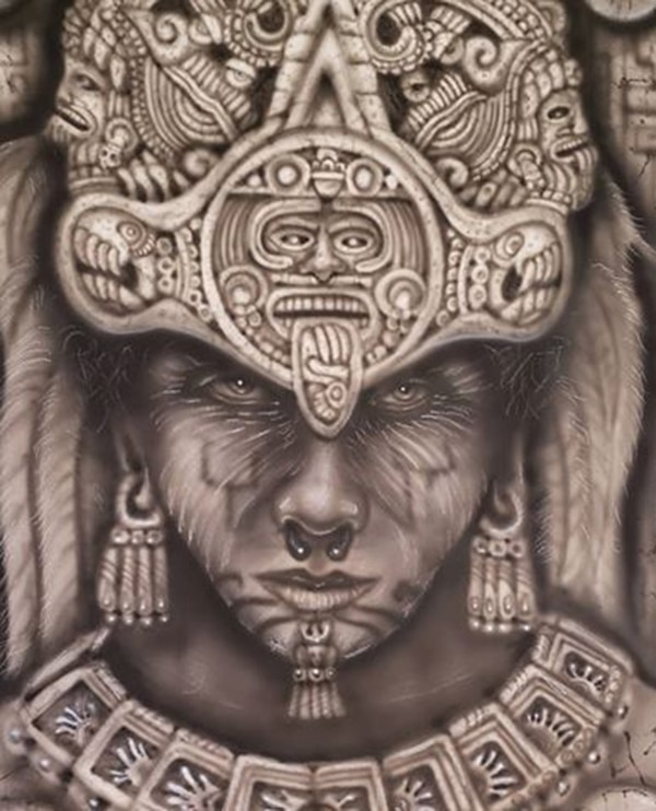 Cihuacóatl emergía desde el Lago de Texcoco y trataba de advertir a los aztecas sobre la masacre de la que serían víctima