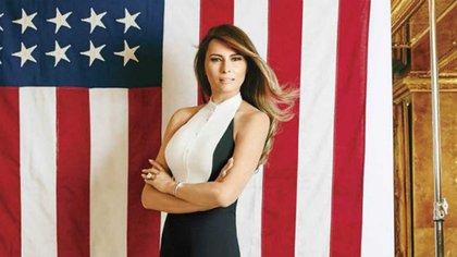 Melania Trump, entre las mujeres más buscadas del 2016, saltó a la fama luego de su polémico discurso parecidoal de la primera dama Michelle Obama