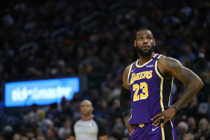 LeBron James, figura de Los Angeles Lakers (Credit: Cary Edmondson-USA TODAY Sports)