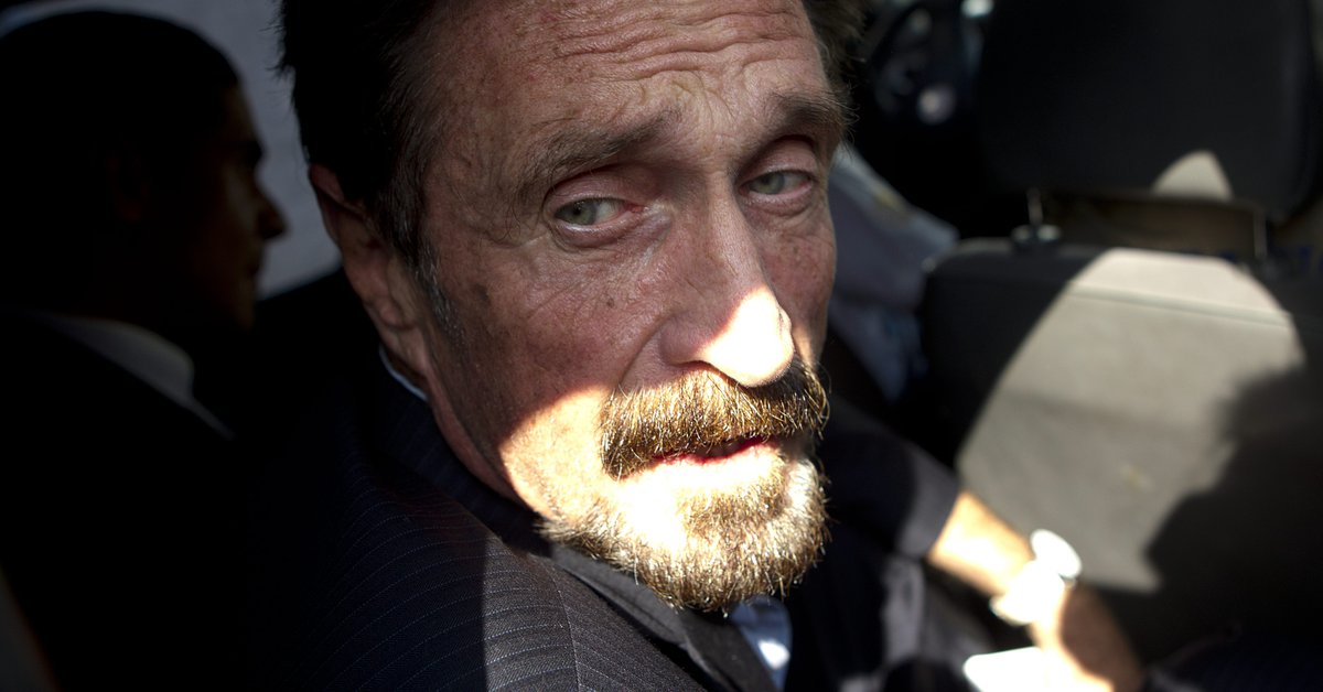 Spain launches investigation to determine the cause of John McAfee's death