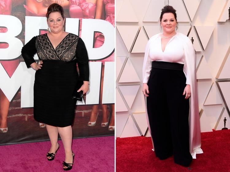 Melissa McCarthy ya logró bajar 34 kilos (Shutterstock)