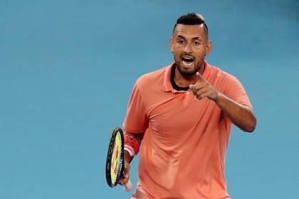 Nick Kyrgios dijo en las redes sociales que era mejor que algunas leyendas del tenis como Borg, Agassi, Lendl o Sampras (REUTERS)