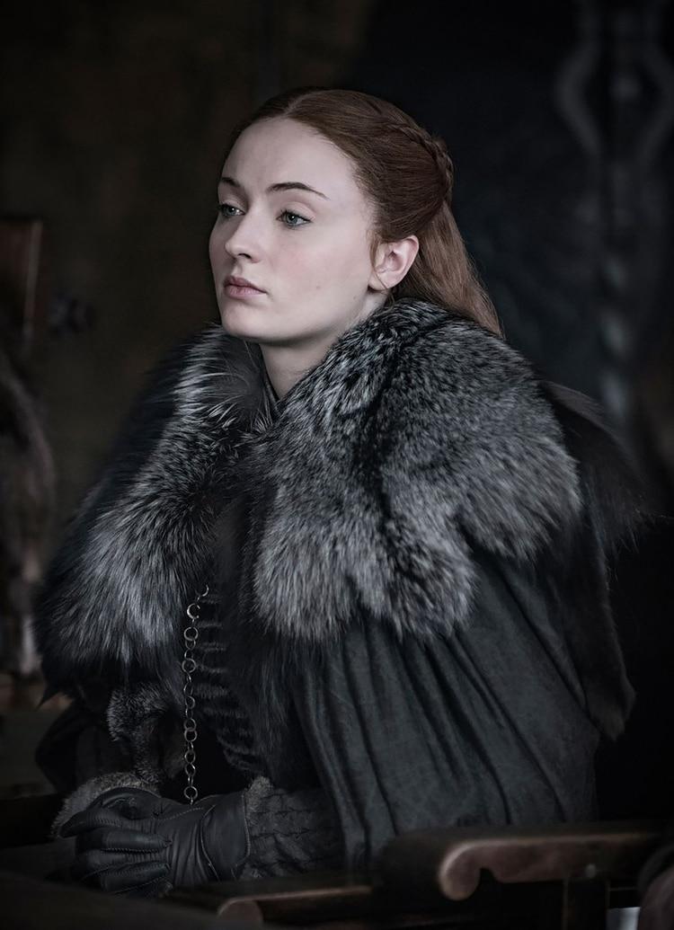 Sophie Turner como Sansa Stark (HBO)