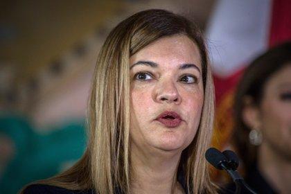 La jueza cubano-estadounidense Bárbara Lagoa. (EFE/Giorgio Viera/Archivo)