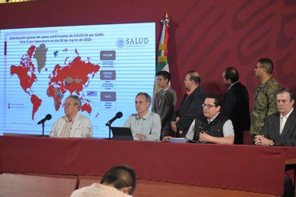 Este lunes, el gobierno mexicano decretó la emergencia sanitaria por causas de fuerza mayor (Foto: Cortesía Presidencia)