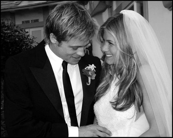 Su casamiento con Brad Pitt