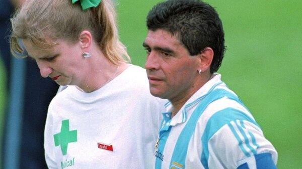 Resultado de imagen para maradona doping