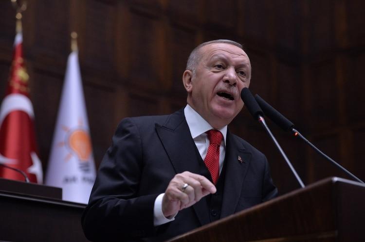 El presidente de Turquía, Recep Tayyip Erdogan (REUTERS/Stringer)