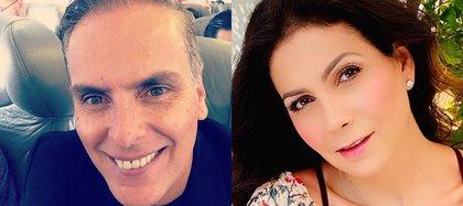 En su paso por Garibaldi se enamoró de Paty Manterola y se casaron en 1999. (Foto: Instagram@xavierortizr/@patriciamanterola)