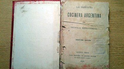 Una de las primeras ediciones del histórico libro de cocina