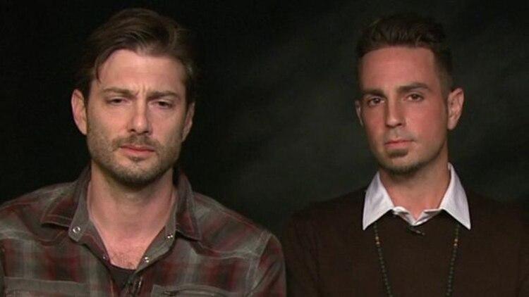 Wade Robson y James Safechuck, en la entrevista con la BBC