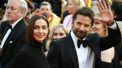 Irina Shayk and Bradley Cooper began dating in 2015, shortly after she ended her affair with the then Real Madrid player, Cristiano Ronaldo (Photo: Robyn Beck / AFP)