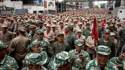 Milicia Nacional Bolivariana (EFE)