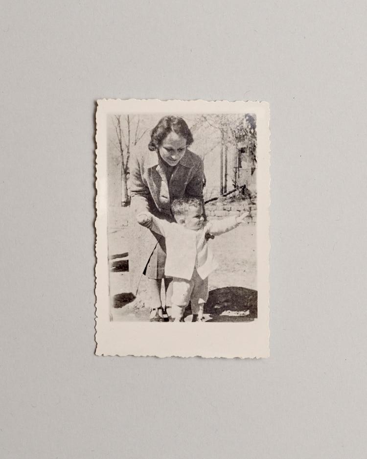 Un retrato de Maria y Ariel Blumental. (Vincent Tullo/The New York Times)