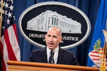 El fiscal federal interino para el Distrito de Columbia, Michael Sherwin