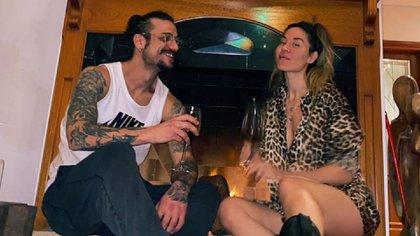 Tiempos felices: Daniel Osvaldo y Jimena Barón, cuando la cuarentena los había reunido